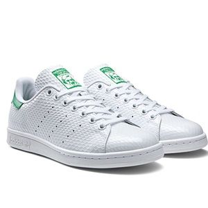 Adidas Stan Smith Green Honeycomb Gloss Sneakers